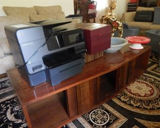 Mid Century coffee table. HP printer...retails for $500.00... Used but works...$95.00