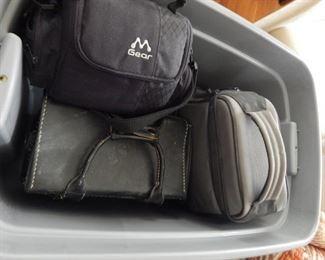 More camera bags.