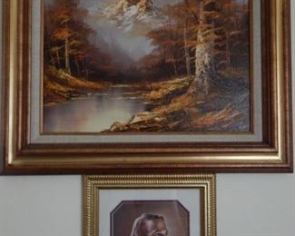 Art and the famous portrait of Jesus.
