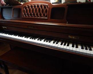 Baldwin upright piano... great name!