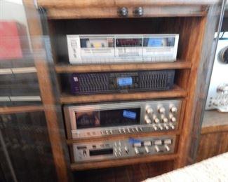 Stereo equipment...