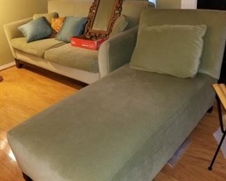 Rowe sofa and chaise