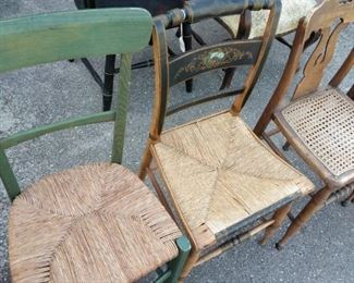 antique chair collection