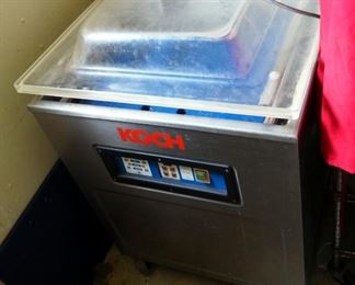 Koch Commercial Electric Vacuum Sealer Model X180, 220 Volts, Powers On