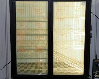"True Standup Freezer Case Model JDM-49F, Powers On But Not Cooling, 78"" x 54"" x 30"""