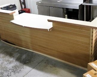 "Restaurant Check-Out Counter 42"" x 132"" x 34.5"""