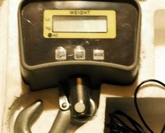 Electronic Crane Scale 500 Lb. Weight Capacity