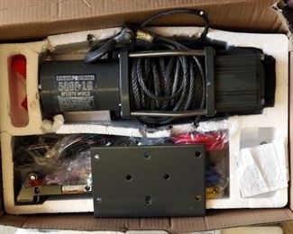 Badland ATV Utility Winch 5,000 Lb. Capacity In Original Box