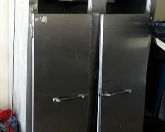 Stainless Steel 2-Door Continental Refrigerator Model 2R