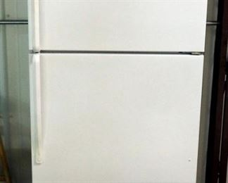 "Roper Upright Refrigerator/Freezer Model RT18DKXKQ04, 66""H x 30""W x 31""D, Powers On"