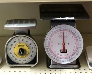 Pelouze, Weston and Zerla Food Scales, Qty 4