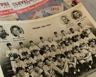 There's Lot's Of Fun Sports Pictures and Magizines...Look At This...Toledo Sox 1953!...WOW!...