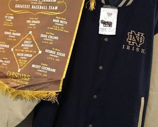 Vintage Jackets and Banners...