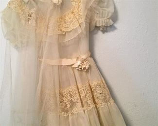 LOVE THIS...It Reminds Me Of The First Communion Dress My Grandma Bought For Me...