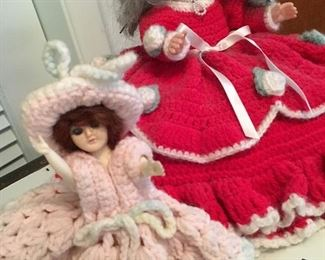 AND...Knitted Dolls...