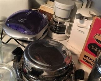 Boy Do We Have A Full Kitchen...Small Appliances...