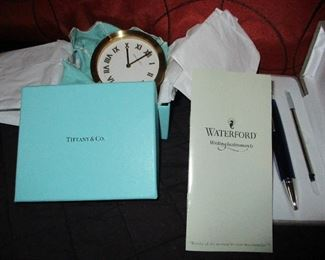 Waterford & Tiffany Gifts Unopened