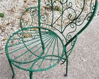 more vintage outdoor seating