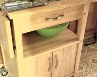 Useful kitchen utility cart