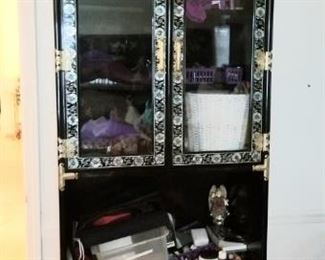 Another smaller cabinet