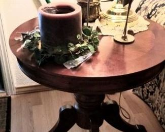one of two beautiful side tables