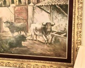 Large Spanish art