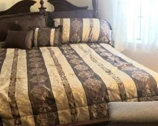 Wonderful Four Poster bed
