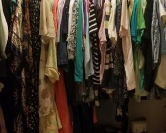 Women's clothing,  shoes, pursed