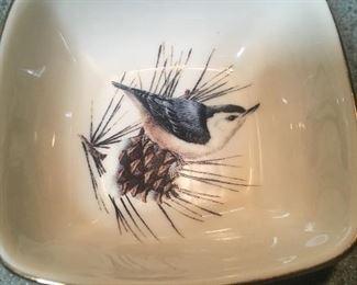 Lenox blue bird dish