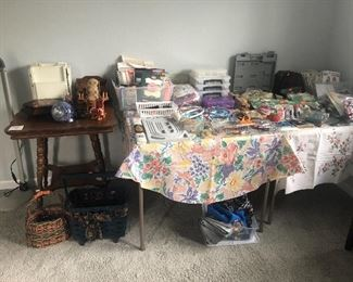 House 2: a few craft supplies