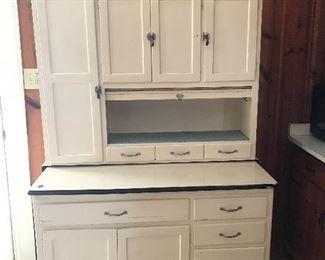 Hoosier Cabinet with flour bin