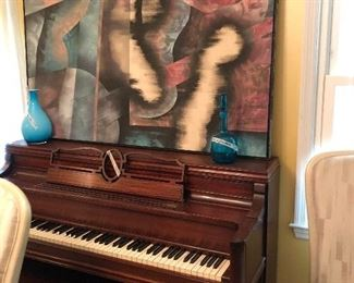 Stores & Clarke piano