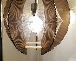 Mid-century acrylic hanging light