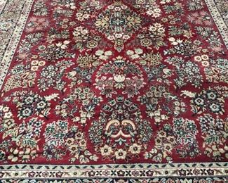 Approx 11 1/2 x 8 oriental rug