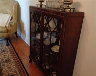 small china hutch / foyer piece