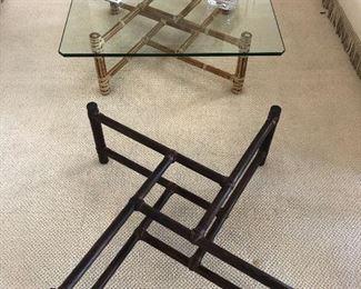 McGuire Furniture - Coffee Table Base https://ctbids.com/#!/description/share/165424