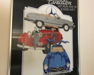 Mercedes-Benz Framed Poster #4 https://ctbids.com/#!/description/share/165425
