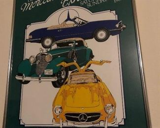 Mercedes-Benz Framed Poster #2 - 13th Annual Exhibition