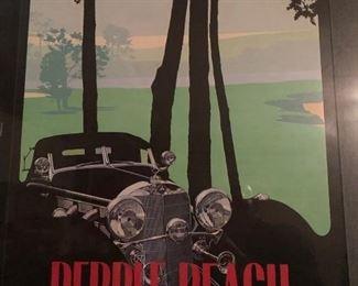 MERCEDES-BENZ Framed Poster #1, Pebble Beach Concours 1986 36th Annual https://ctbids.com/#!/description/share/165431