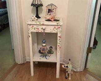 Hand painted small table
