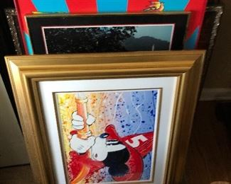 David Willardson framed art
