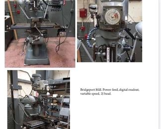 The CADILLAC of Milling Machines. The Bridgeport Mill. 2J Head.