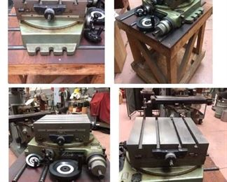 Advance cross-slide rotary table. MINT condition.