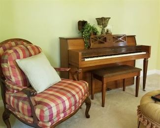 Piano needs to be tuned and will be priced accordingly.