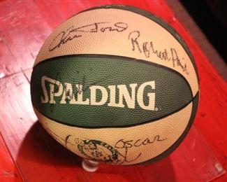 Boston Celtics signed ball