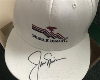 Jack Nicklaus signed hat
