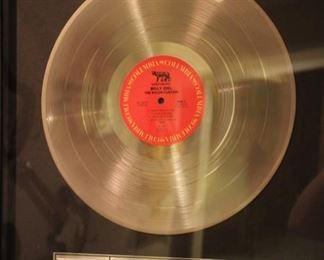 Billy Joel gold record