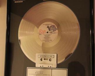 John Mellencamp platinum album