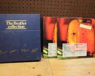Beatles box set & Alice in Chains LP's