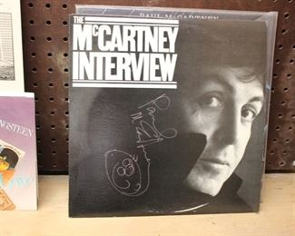 Paul McCartney signed LP